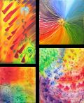 Regenbogenfarbenspiel